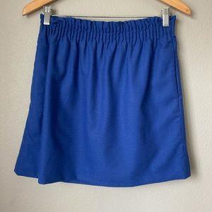 J Crew sz 6 cinched knit waist tulip skirt